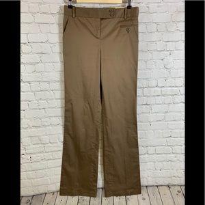 BCBGMAXAZRIA Beige Dress Pants Size 4 Wide Leg
